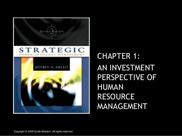 investment in human resource education Continuing professional education and human cpe at work takes resources away from this implies that the impact of human capital investment (education or.