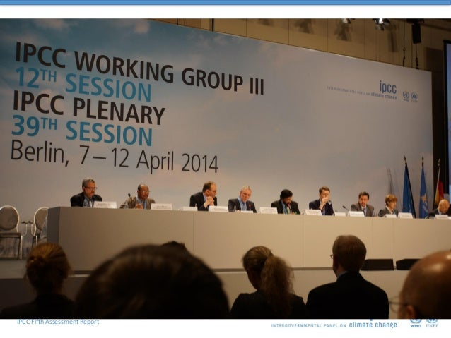 Working Group III contribution to the IPCC Fifth Assessment Report