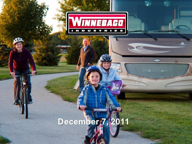 Winnebago Industries12 7-11