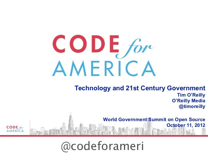 World Government Summit on Open Source (keynote file)
