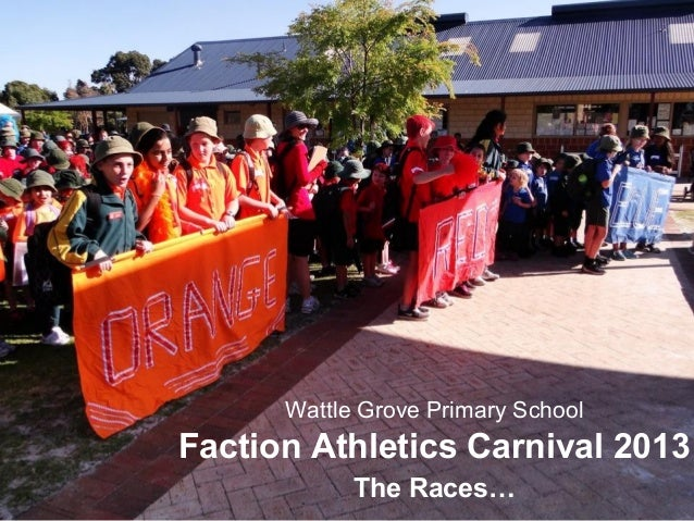 Wattle Grove Primary School Faction Athletics Carnival 2013 The Races…