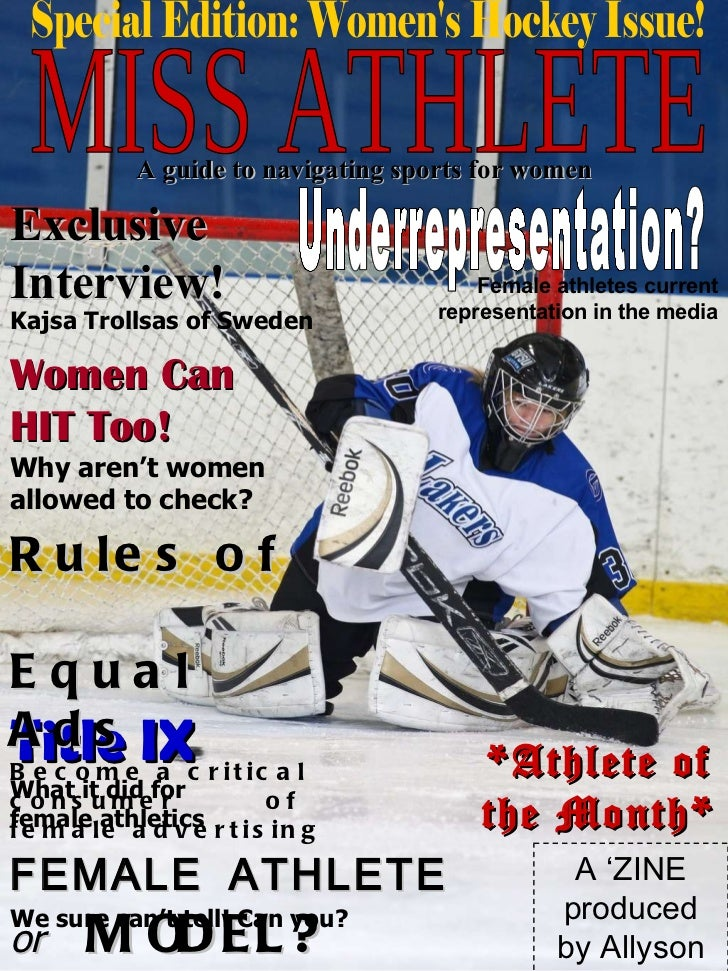 MISS ATHLETE A guide to navigating sports for women Exclusive Interview! Kajsa Trollsas of Sweden Women Can  HIT Too!  Why...