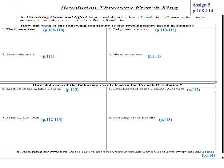 Assign 5                                                            p.108-114 (p.108-110)                               (p...