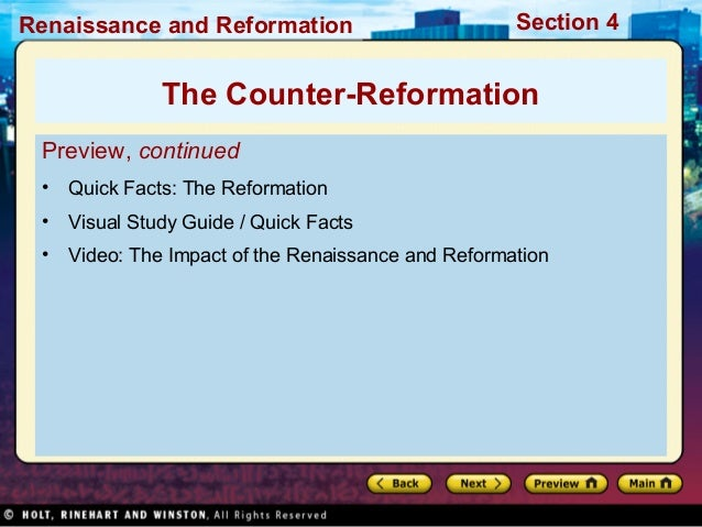 world history reformation The reformation was the religious revolution that took place in the western church in the 16th century its greatest leaders were martin luther and john calvin having far-reaching political, economic and social effects, the reformation became the basis for the founding of protestantism, one of the three major branches of christianity.