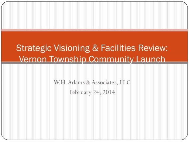 Vernon Township School District Strategic Planning Community Event 2.24.2014