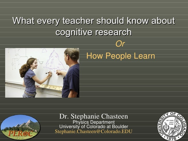 What every teacher should know about cognitive science