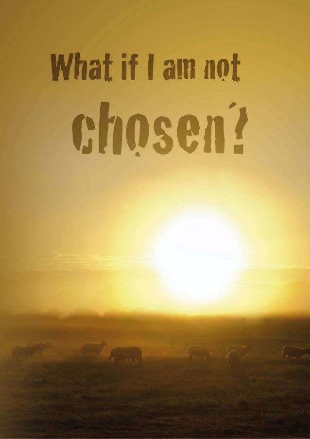 What if I am not chosen?