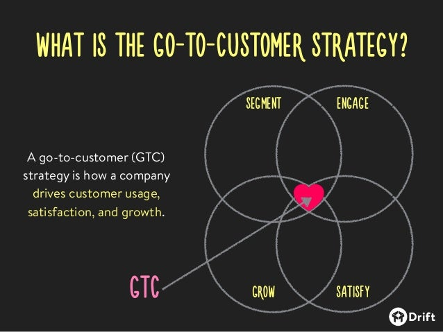What is the Go-To-Customer Strategy?
