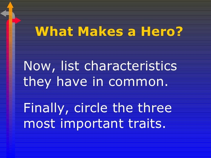 what makes an epic hero essay