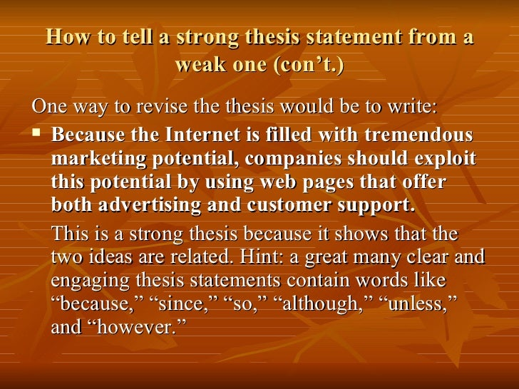 thesis statement for definition essay SlideShare examples thesis statements essays Cause and effect essay thesis statement   MPI How to write cause