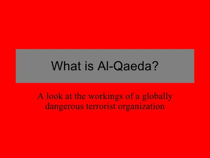 What is Al-Qaeda? A look at the workings of a globally dangerous terrorist organization