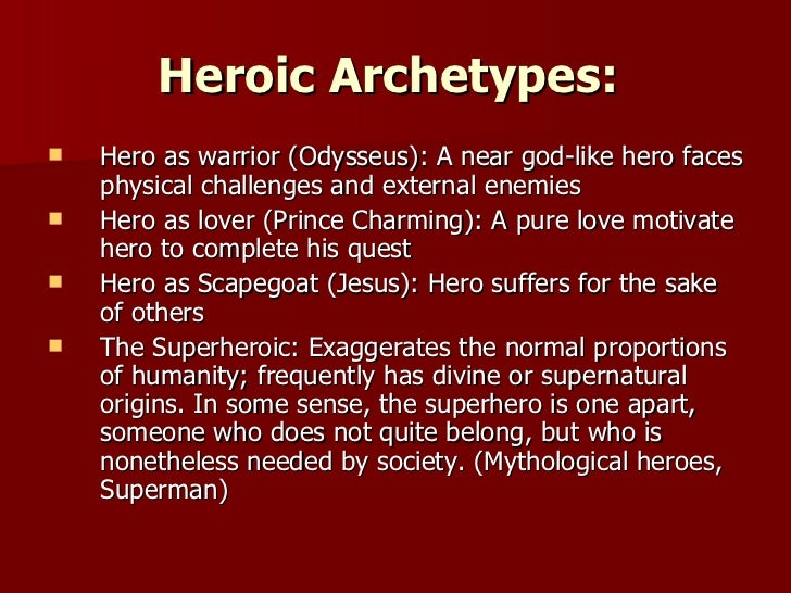 odysseus archetype essay Odysseus hero archetype essays - qualitative dissertation help take a shot every time you write the word society in an essay: an ongoing game throughout ap lang.