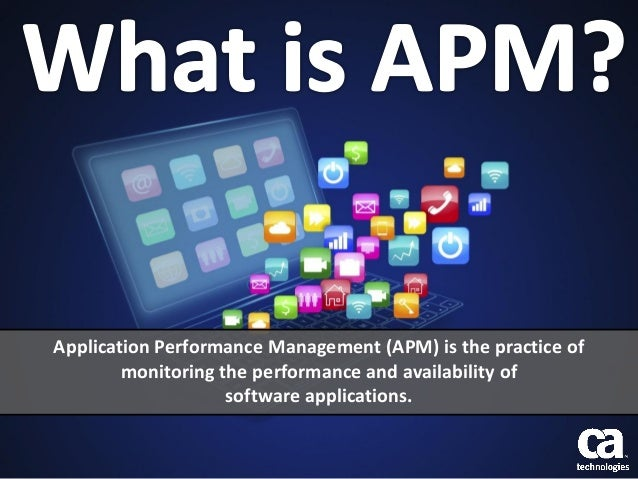 Application Performance Management (APM) is the practice of monitoring the performance and availability of software applic...