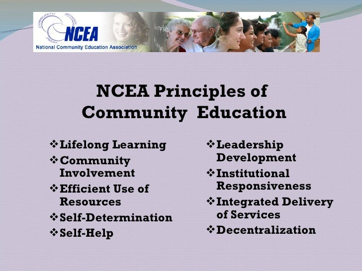 What Is Community Education