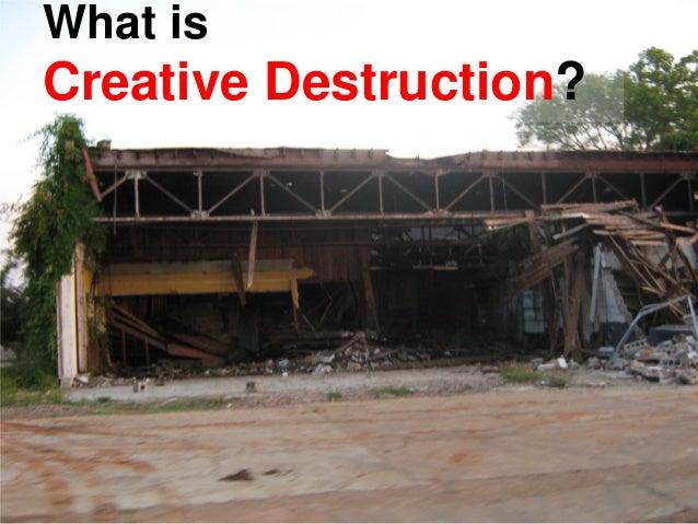What Is Creative Destruction?