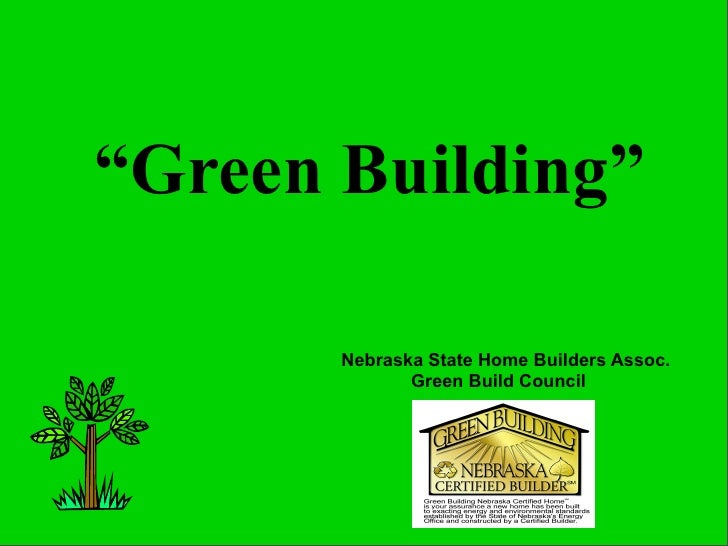 Greg Shinaut on What is Green?