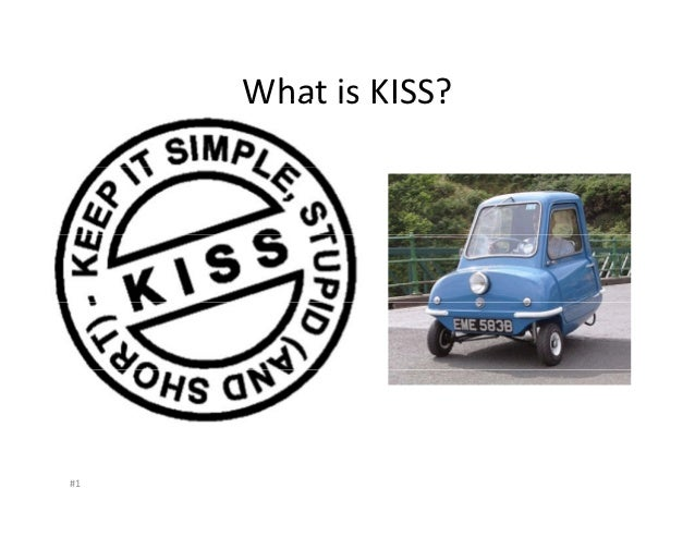 What is the KISS principle