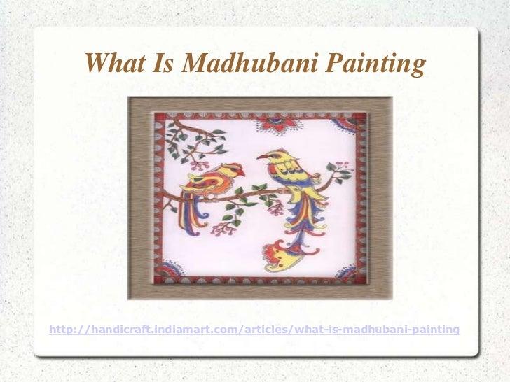What is Madhubani Painting