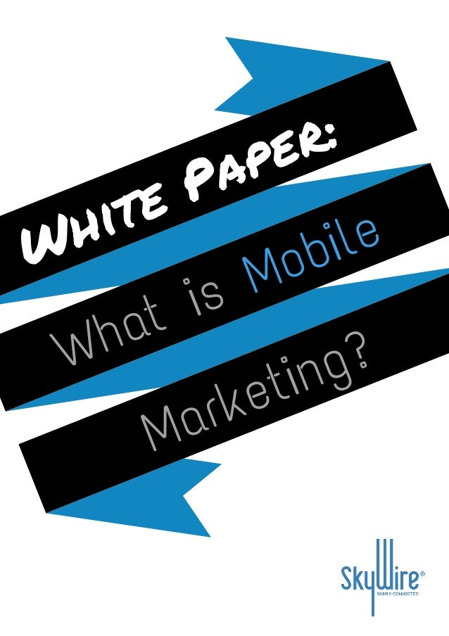 white paper on marketing