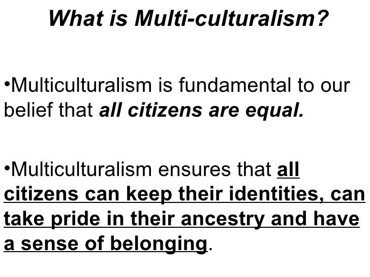 What Is Multi Culturalism?