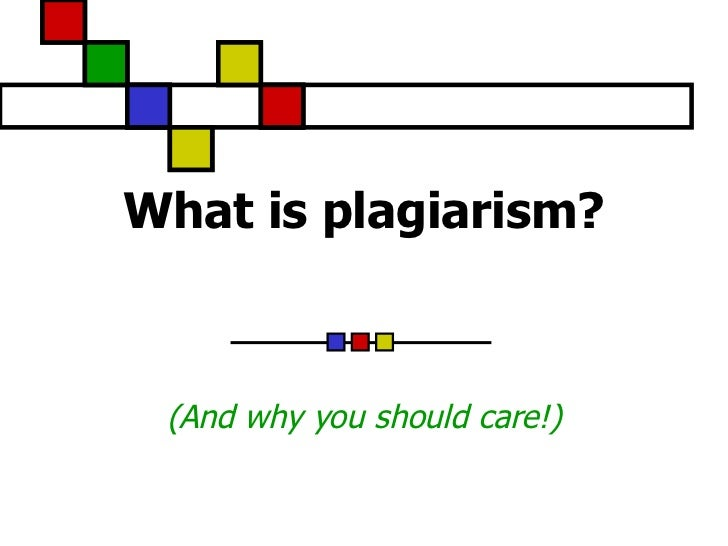 What is-plagiarism