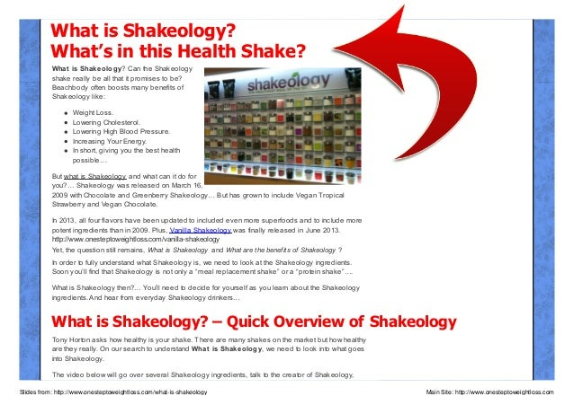 What is Shakeology? What's in this Health Shake? What is Shakeology? Can the Shakeology shake really be all that it promis...