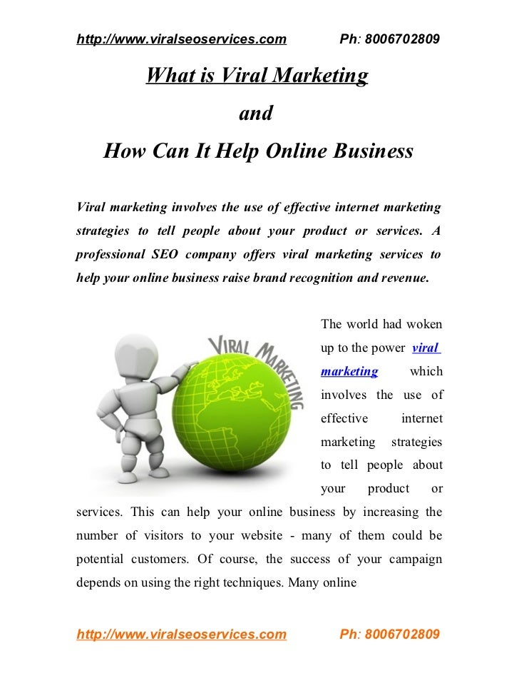 What is Viral Marketing and How Can It Help Online Business