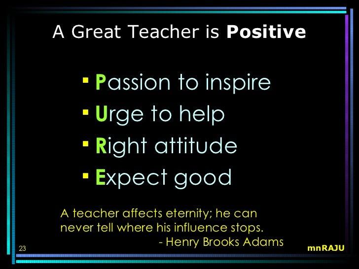 a good essay on teachers day