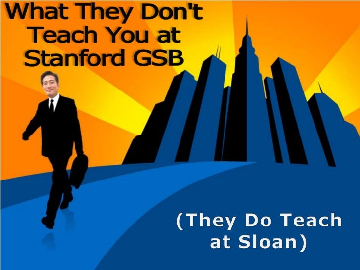 (They Do Teachat Sloan)<br />