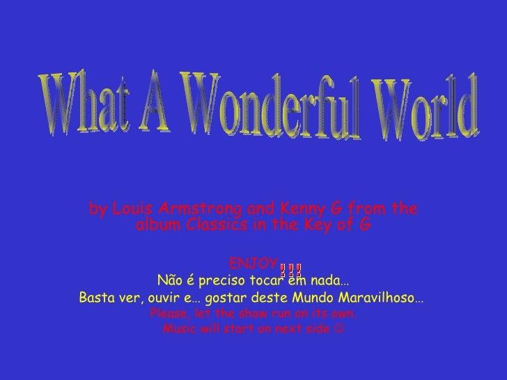 Whata Wonderful Worldby Ros