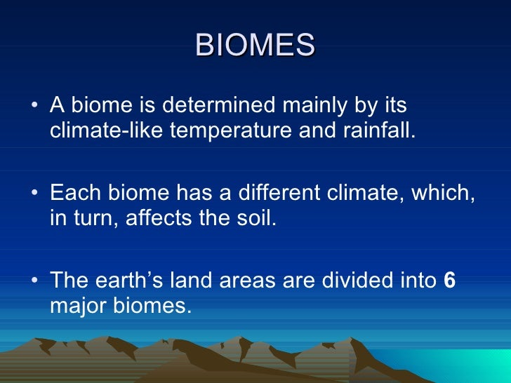 essays on biomes Biomes essays: over 180,000 biomes essays, biomes term papers, biomes research paper, book reports 184 990 essays, term and research papers available for unlimited access.