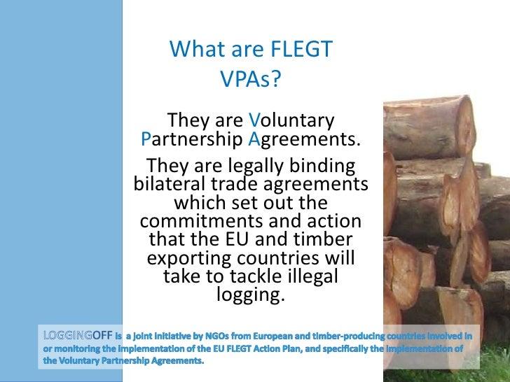 What are FLEGT VPAs?
