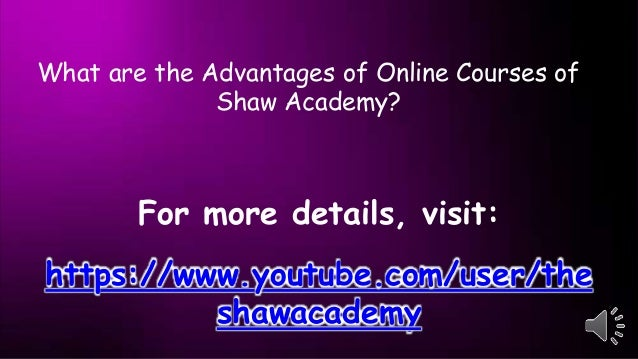 Advantages of Online Video Training