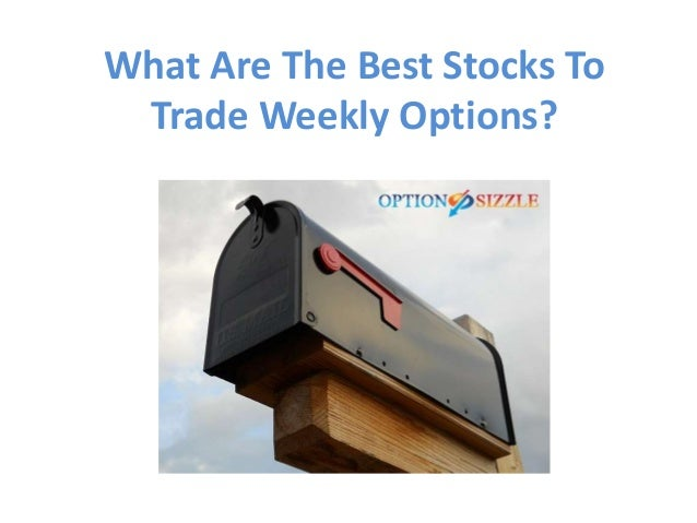 Best weekly options trade