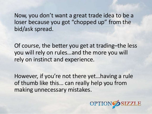 What are the best options to trade