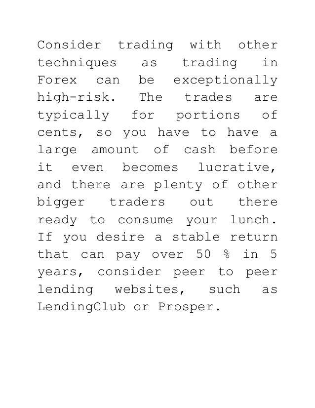 Binary options trading formula