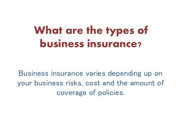 how to get business insurance