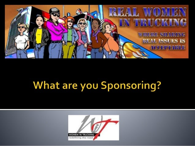 What Are You Sponsoring?