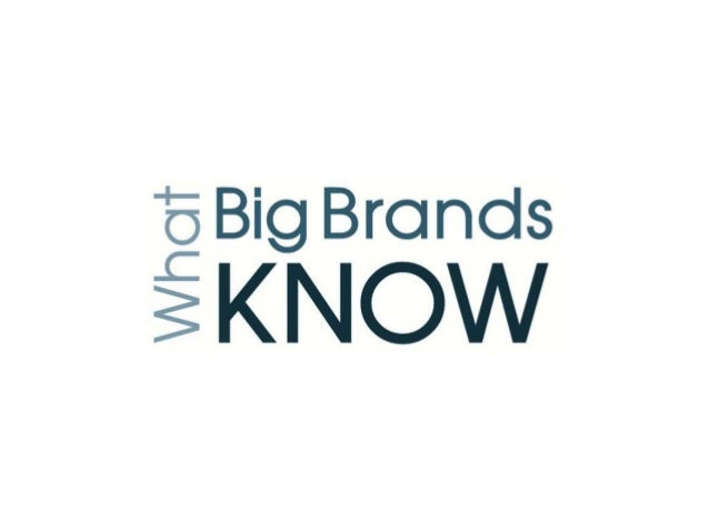 What big brands know goal setting techniques