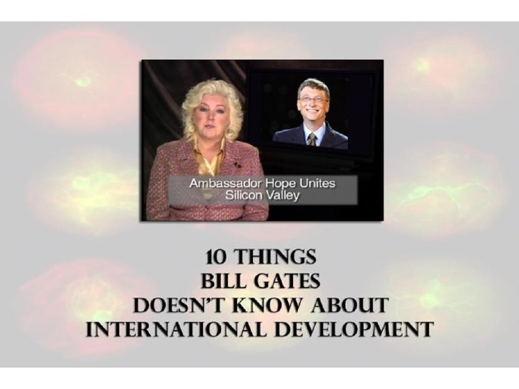 What Bill Gates Doesn\'t Know about International Development