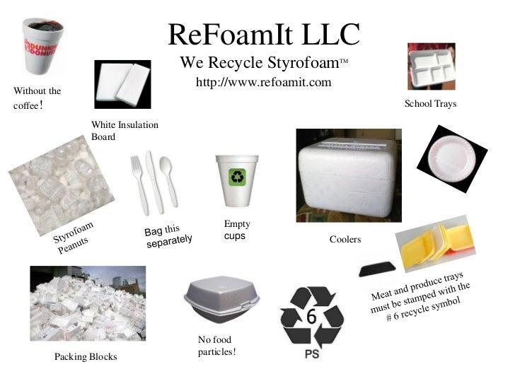 Municipal #3 Difficult to Manage Waste - Styrofoam
