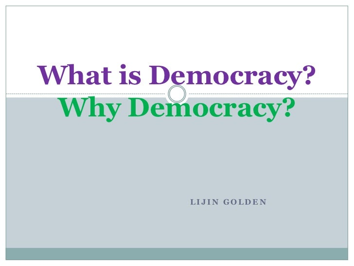 What is direct democracy?