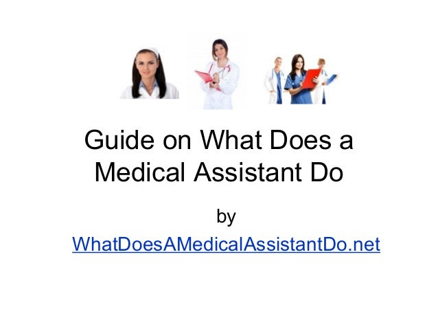 Medical Assistant university guise