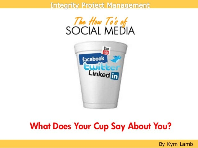 Social Media for Local Business: What Does Your Cup Say About You?