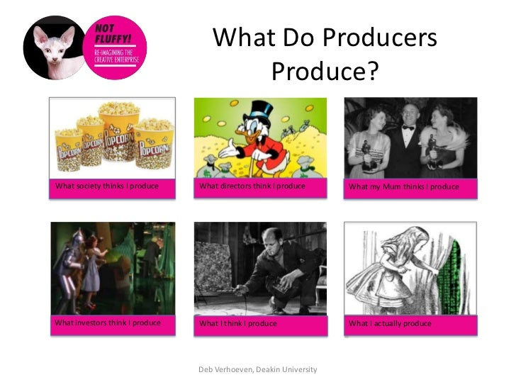 What Do Producers                                       Produce?What society thinks I produce    What directors think I pr...