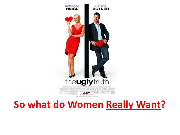 So what do Women Really Want?<br />