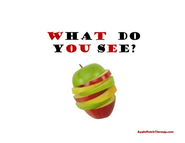 What Do You See? Speech Therapy, Orlando