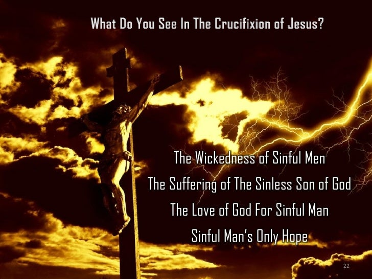 what do you see in the cross 3 the proof of gods love
