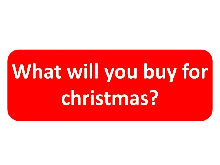 What do you want for christmas