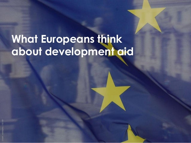 What Europeans think about development aid